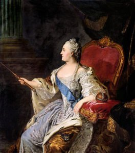 1763 portrait of Catherine the Great