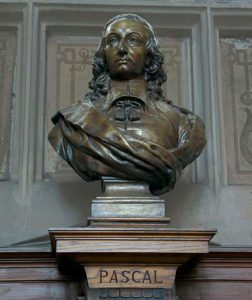 Bust of Blaise Pascal