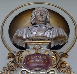 Bust of Pierre de Fermat