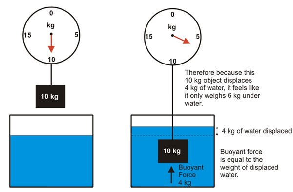 Archimedes' Principle diagram