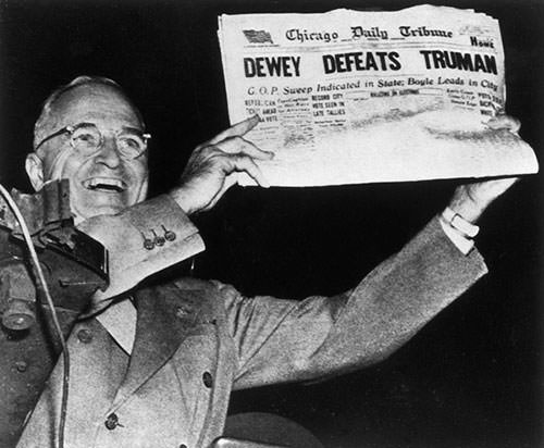 Harry S. Truman after 1948 presidential election