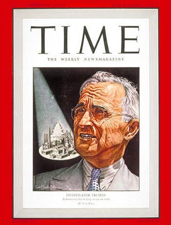 Harry Truman on Time magazine