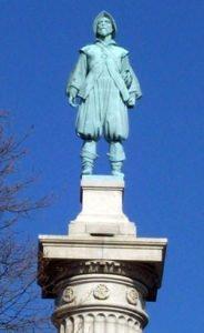 Statue of Henry Hudson in New York City