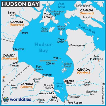 Hudson Strait and Hudson Bay