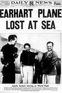 Amelia Earhart disappearance report