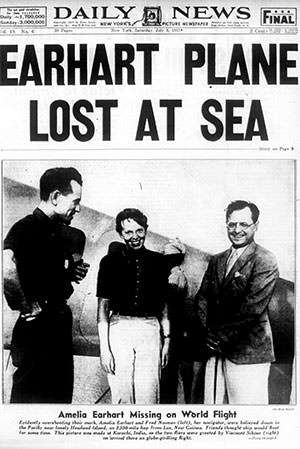 Amelia Earhart disappearance report