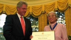 Rosa Parks Presidential Medal of Freedom
