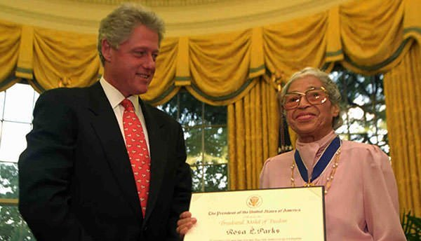 Rosa Parks Presidential Medal of Freedom