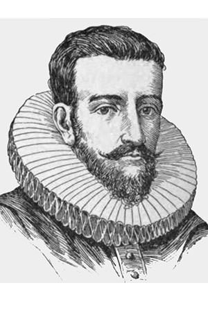 Henry Hudson speculative portrait