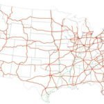 2006 Map of the Interstate Highway System