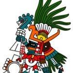 Aztec deity Huitzilopochtli