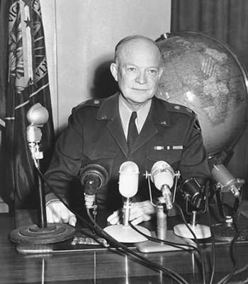 General Dwight D. Eisenhower in 1952