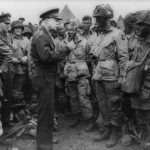 General Eisenhower a day before Operation Overlord