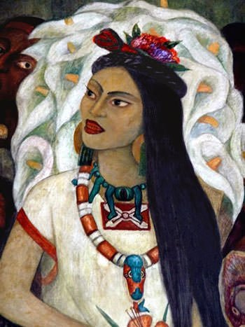 La Malinche portrait