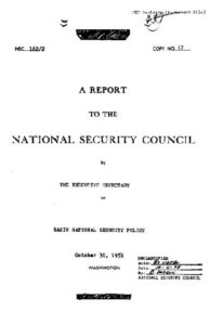Title page of NSC 162-2