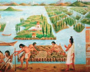 Chinampa painting