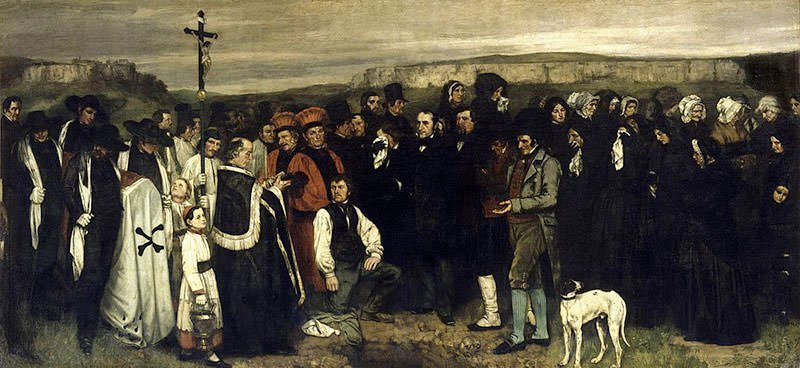 A Burial at Ornans (1850)