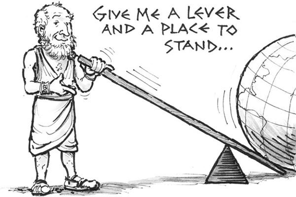 Archimedes Facts on mechanical advantage
