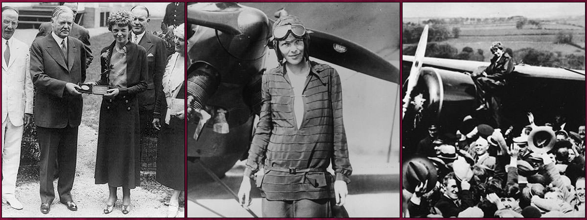 Amelia Earhart Accomplishments Featured