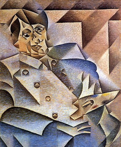 Portrait of Pablo Picasso (1912)
