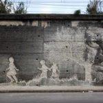 Girona graffiti by Vhils