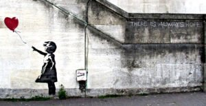 Balloon Girl (2002) - Banksy
