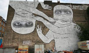 Berlin mural by Blu