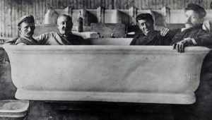 Taft White House bathtub