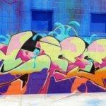 Los Angeles graffiti by Seen UA