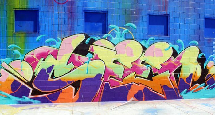 Los Angeles graffiti by Seen UA