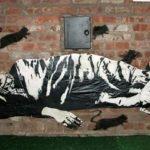 New York graffiti by Blek le Rat