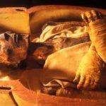 Mummy of Pharaoh Ramses the Great