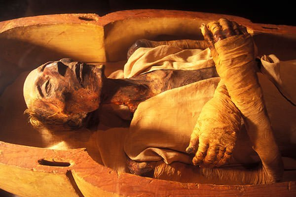 Mummy of Pharaoh Ramses the Great