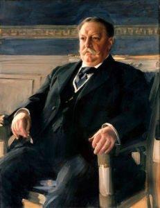 Presidential portrait of William Howard Taft