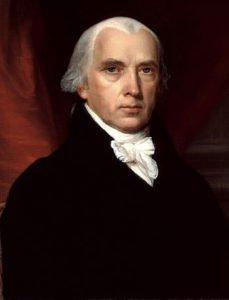 1816 Portrait of President James Madison