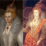 Two contrasting portraits of Elizabeth I