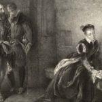 Elizabeth I being held prisoner in the Tower of London