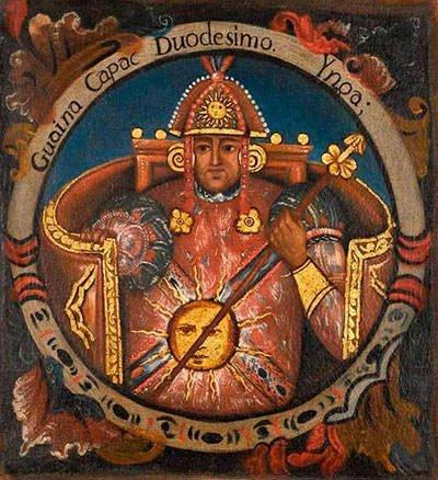 Inca quipu or khipu
