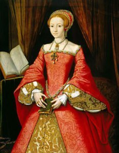 Princess Elizabeth I in 1546