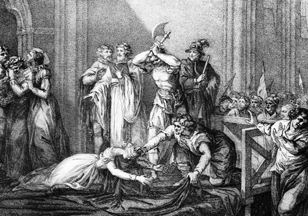 Execution of Mary, Queen of Scots