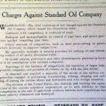 Report on Rockefeller's Standard Oil Company