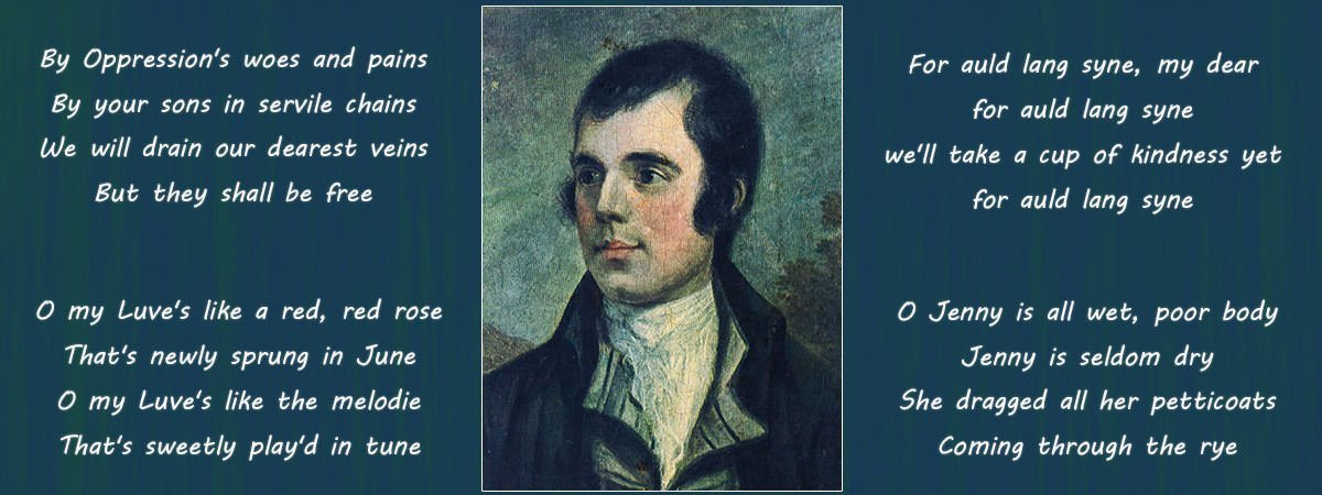 Robert Burns Famous Poems Featured
