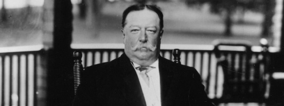 President Taft railroad price hike cartoon
