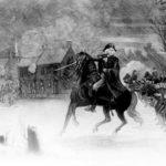 George Washington at the Battle of Trenton