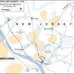Battle of Trenton map