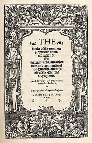 1549 Book of Common Prayer