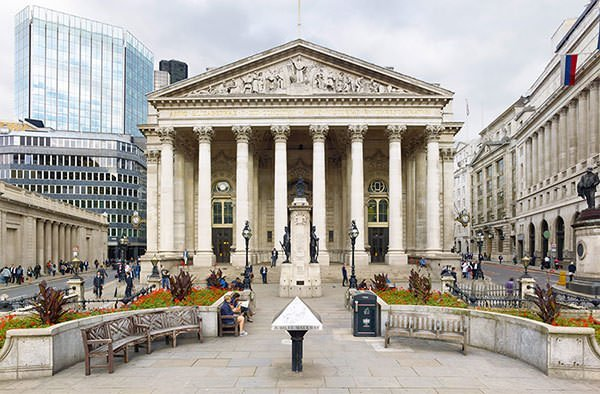 The Royal Exchange in London