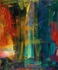 Abstraktes Bild [599] (1986)