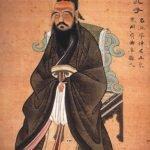 Portrait of Confucius