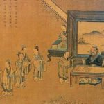 Confucius and his students